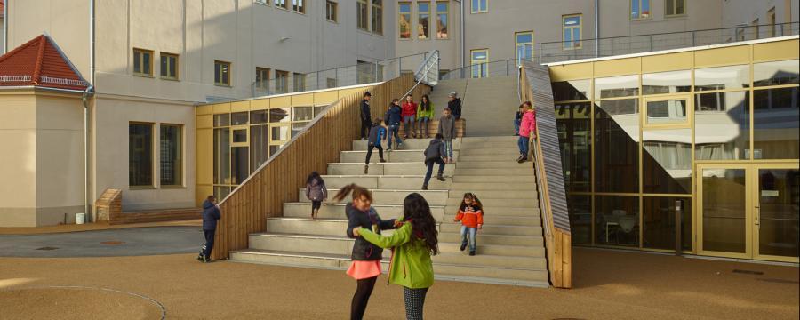Pestalozzi Bildungszentrum Nonconform a3bau