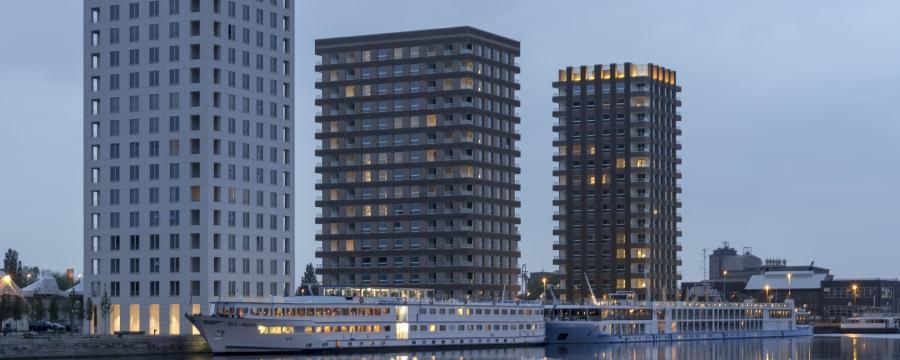 Westkaai Towers a3bau Wienerberger