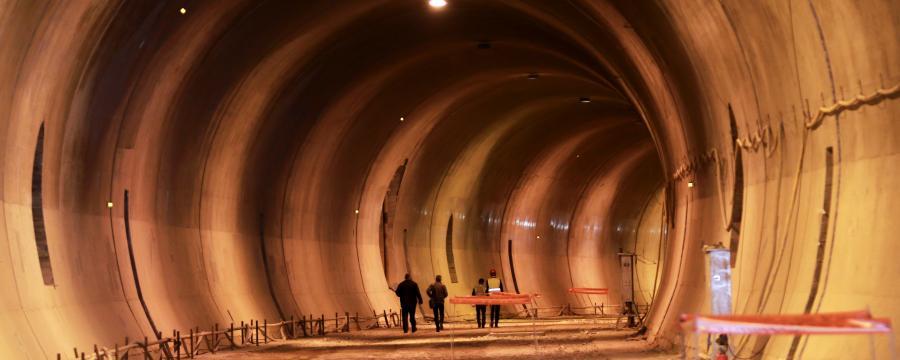 Tunnelbau a3bau Lobautunnel