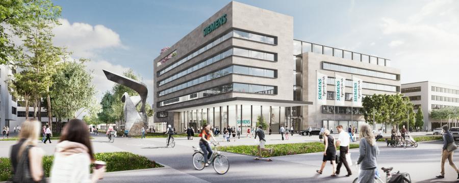 Siemens Campus Erlangen a3bau