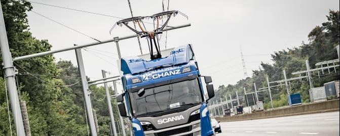 Scania Oberleitungs lkw a3bau