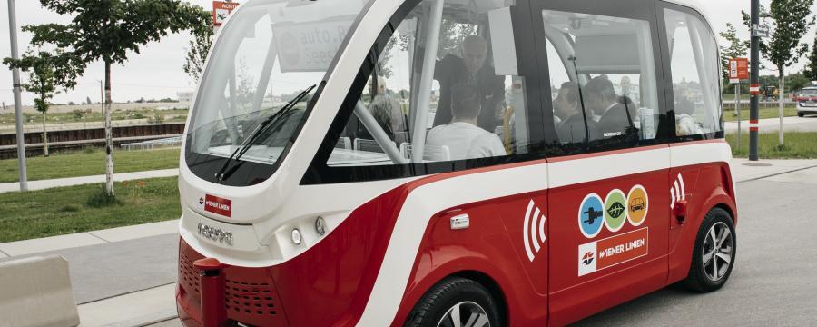 autonome E-Busse Aspern a3bau