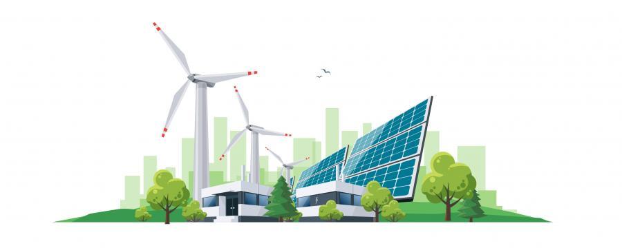 Erneuerbare Energie Welterschöpfungstag