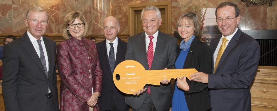 Eröffnungszeremonie für das Justizgebäude Salzburg