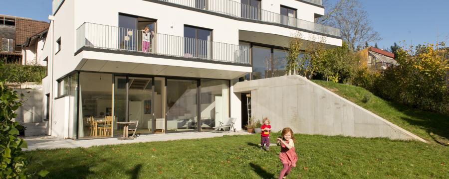 Bauteilaktivierung Purkersdorf a3bau