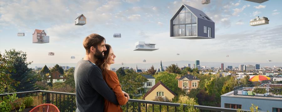 Fliegende Häuser Schwäbisch Hall