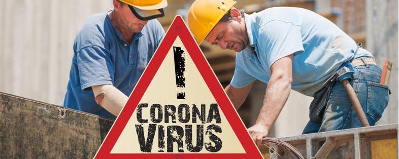 Corona Auf Baustellen
