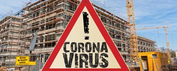 Coronavirus Bauwirtschaft