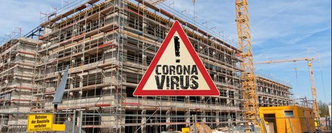 Baustelle Corona