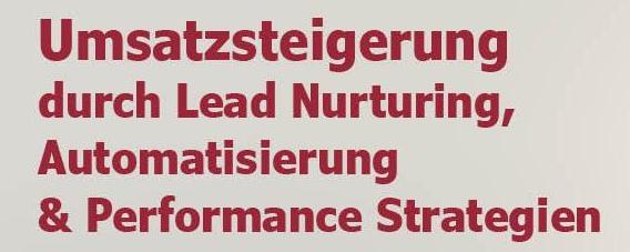 Webinar Lead Nurturing