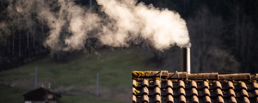 Schornstein Rauch