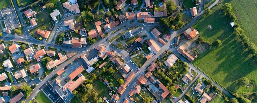 Gemeinde Luftbild