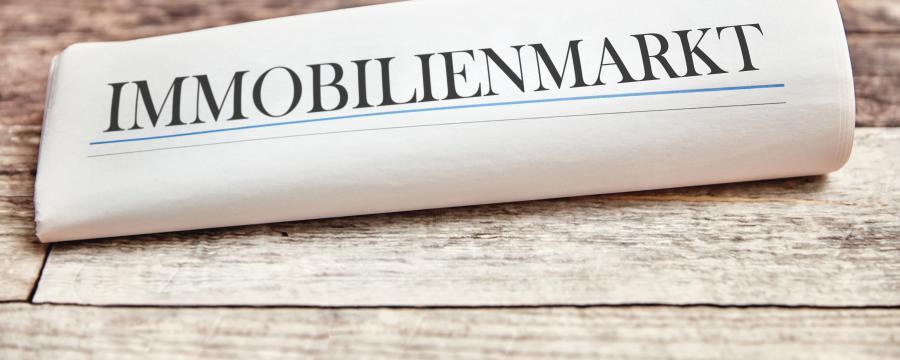Zeitung Immobilienmarkt