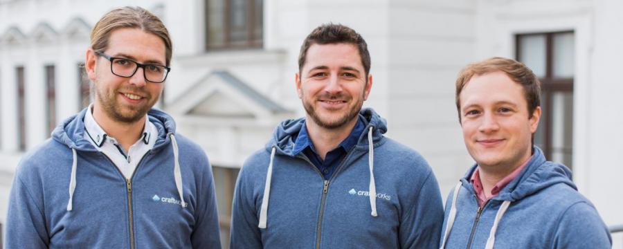 craftworks-Gründer Jakob Lahmer, Simon Grabher, Michael Hetteger