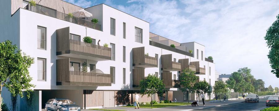 Wohnhaus Fassadenansicht