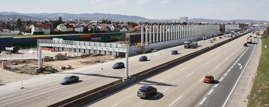 Autobahnabschnitt