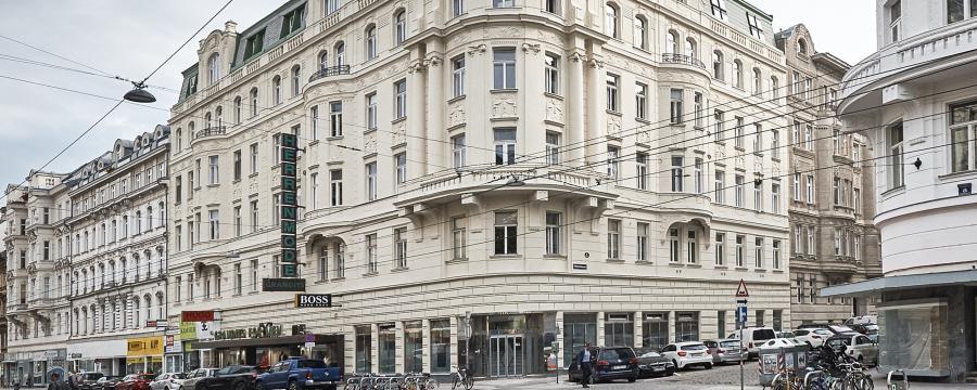 Gründerzeithaus Fassade in Wien