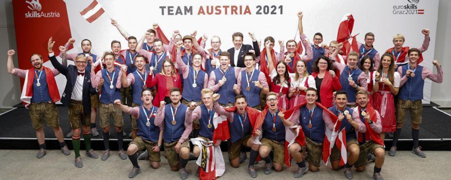 Team Austria bei EuroSkills