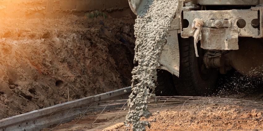 Zementproduktion