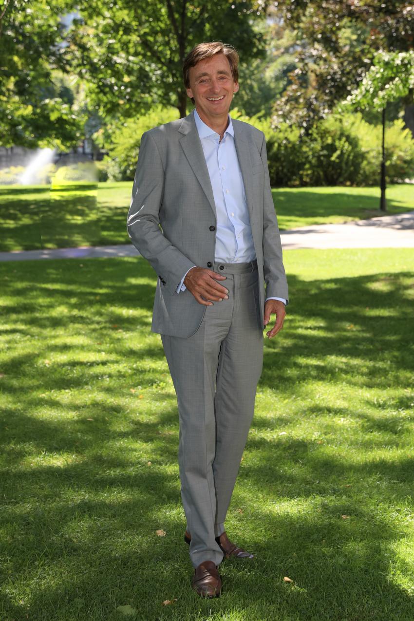 Andreas Ridder im Park