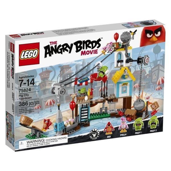 Lego Angry Birds Demolka w Pig City zdjęcie 1