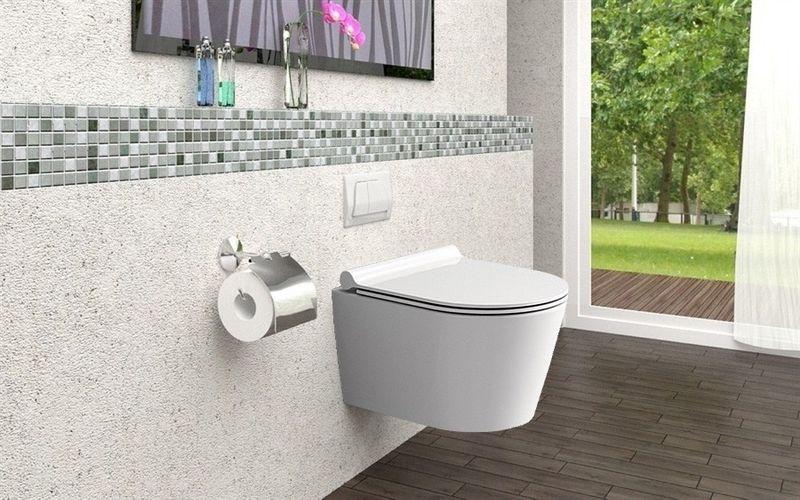 Misa WC Bezrantowa PORTER RIMLESS + Deska zdjęcie 5