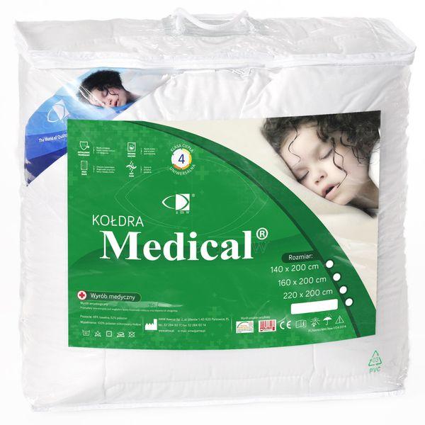 Kołdra antyalergiczna Medical II 140x200 AMW Detex zdjęcie 3