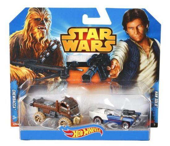 Hot Wheels Star Wars CGX03 Dwupak Chewbacca i Han solo MATTEL  CGX02 zdjęcie 1