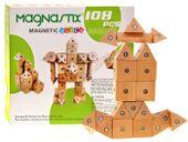 Drewniane Klocki Magnastix 108 magnesów HIT ZA0586
