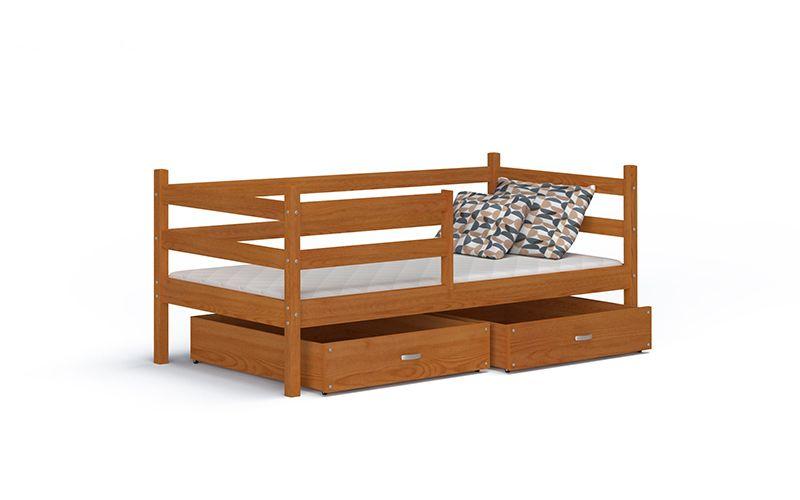 Łóżko wysuwane JACEK P  80x180  szuflady + materac zdjęcie 1