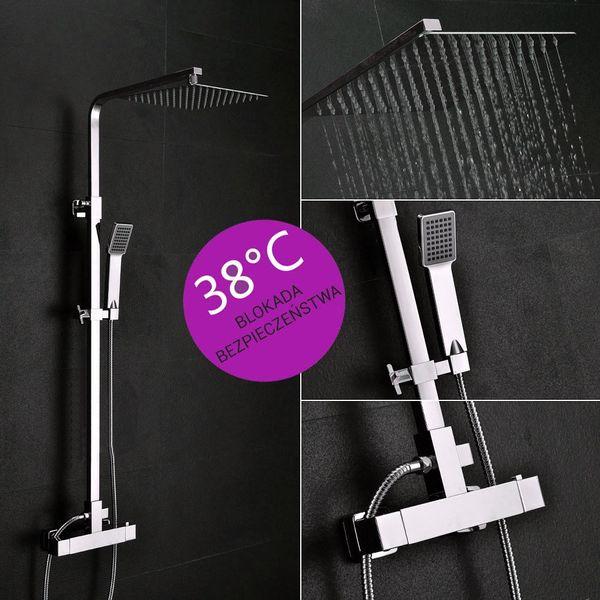 Zestaw natryskowy prysznicowy MILANO zdjęcie 4
