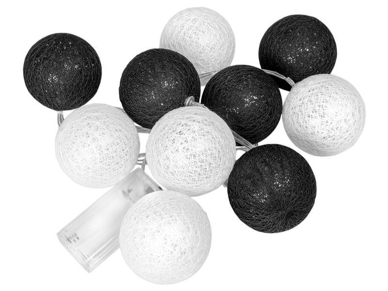 COTTON BALLS ŚWIECĄCE LAMPIONY KULE LED 10 kul zdjęcie 1