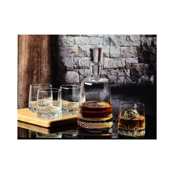 KROSNO Fiord - Zestaw komplet do whisky z karafką / 6 osób zdjęcie 2