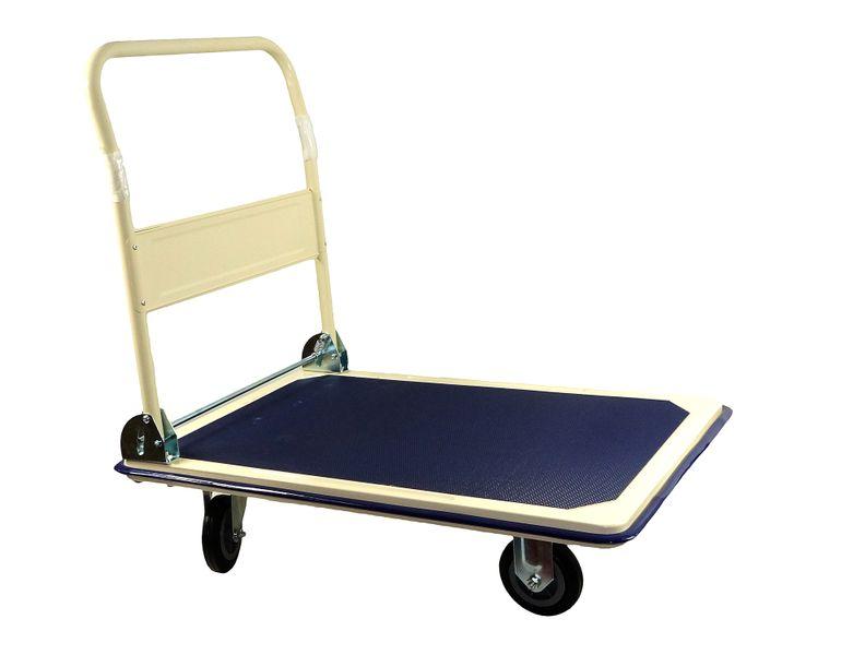 Wózek transportowy platformowy składany 300 kg PRO zdjęcie 1