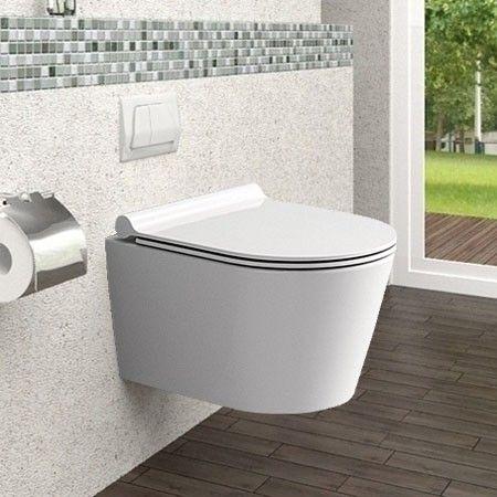 Misa WC Bezrantowa PORTER RIMLESS + Deska zdjęcie 4