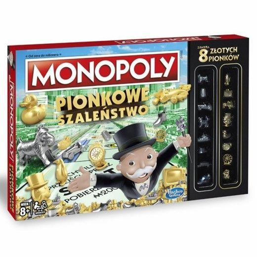 Monopoly Pionkowe Szaleństwo C0087 HASBRO zdjęcie 1