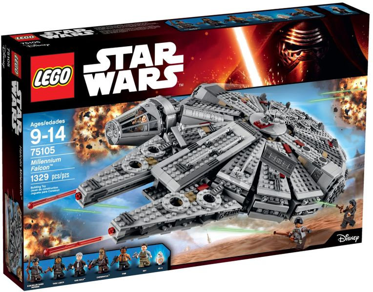LEGO STAR WARS 75105 Millennium Falcon zdjęcie 1