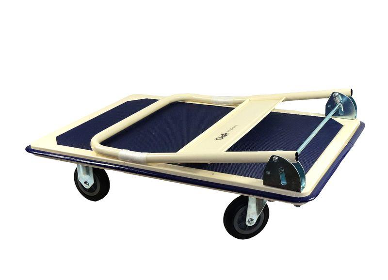 Wózek transportowy platformowy składany 300 kg PRO zdjęcie 2