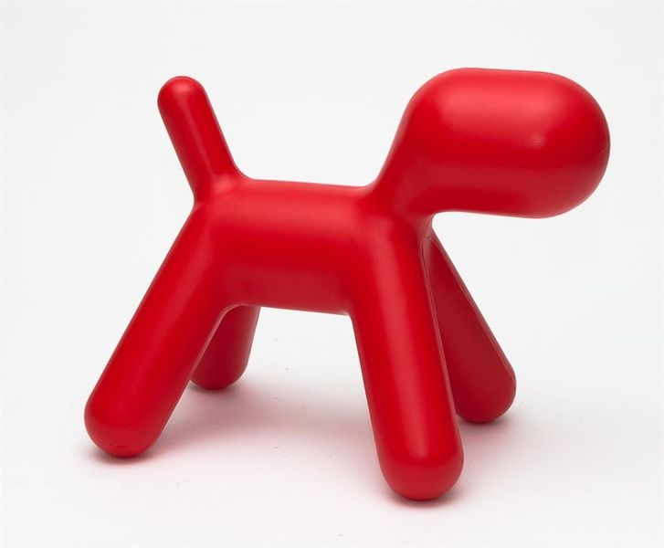 Siedzisko Pies czerwony D2 zdjęcie 2