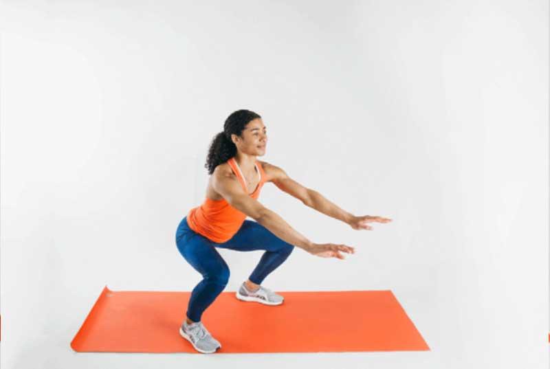 squat egzersizi