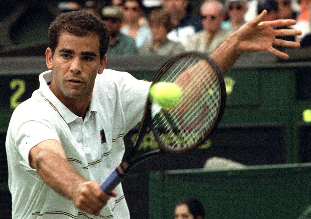 tenis tarihinde gelmiş geçmiş Pete Sampras Servis-Vole