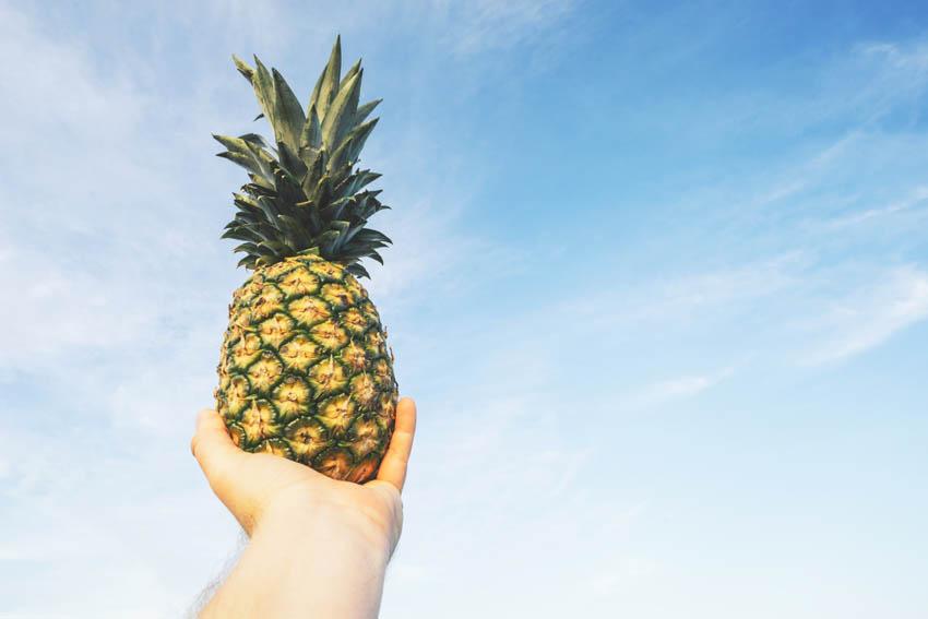yağ yakan besinler ananas