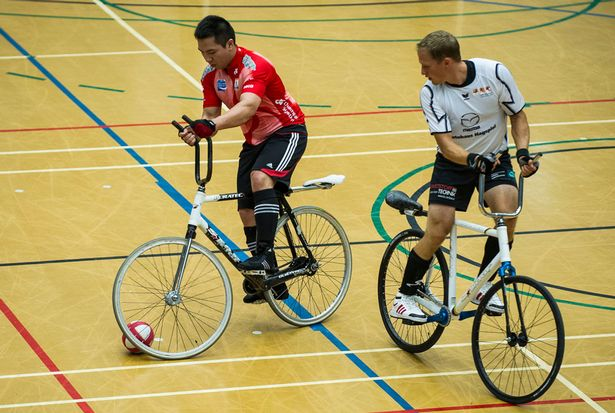 yeni spor dalları cycleball