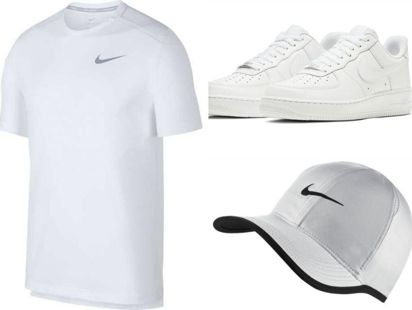 beyaz spor giyim