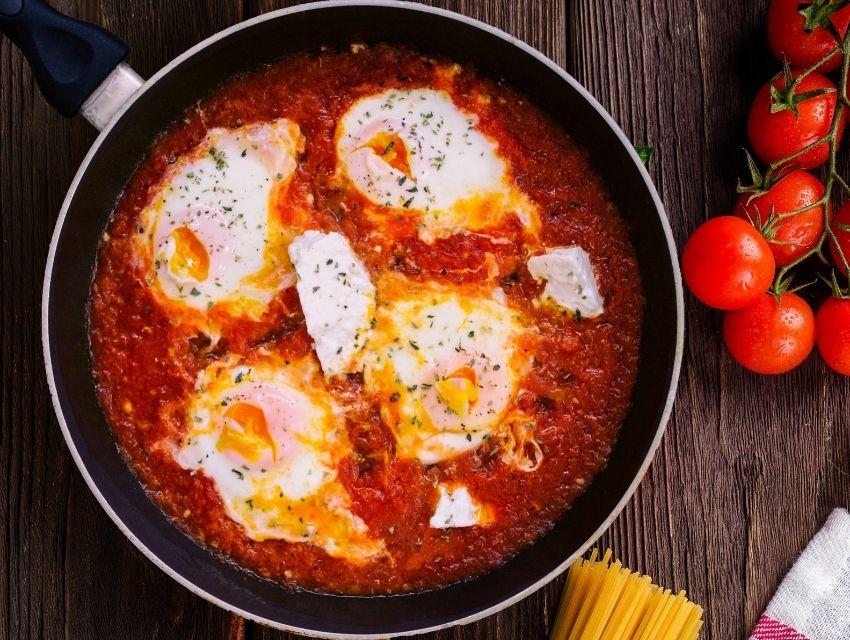Kahvaltıya Özel Sağlıklı Tarifler menemen