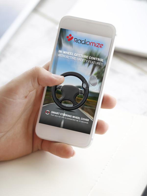 אפליקציית רדיומייז - פיתוח אפליקציות לרכב - ביטמן בית תוכנה