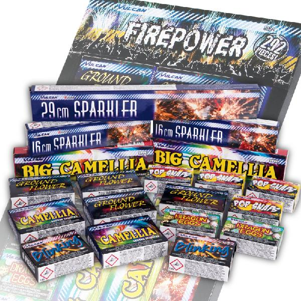 Firepower assortment - 292 delig!