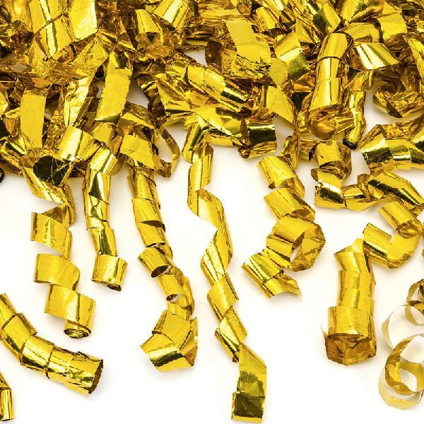 Confetti cannon ~ 80cm~ gold foil streamer thumbnail-image