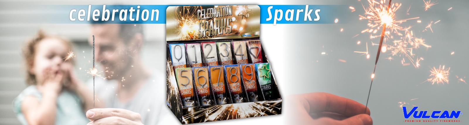 Celebration sparks