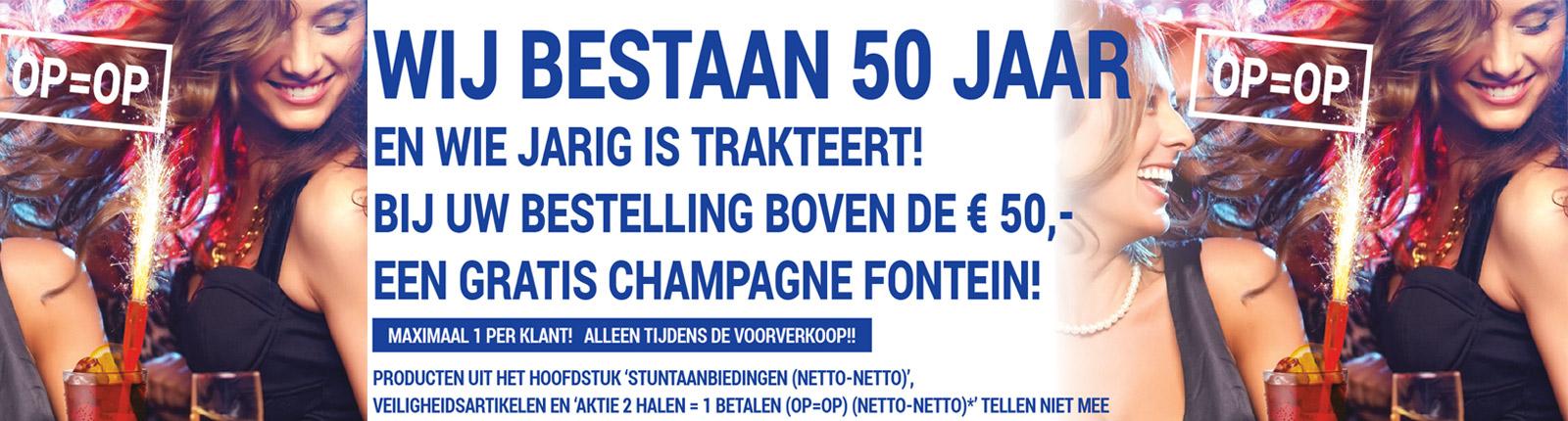 Wij bestaan 50 jaar!